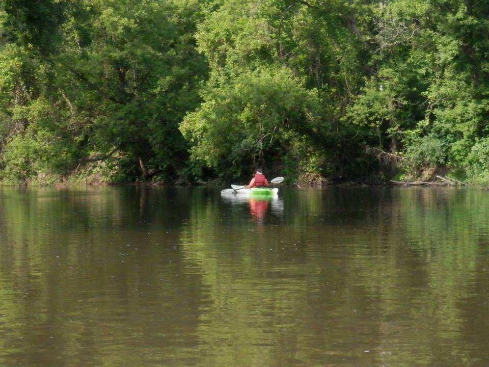 kayaking on turtle creek beloit wisconsin
