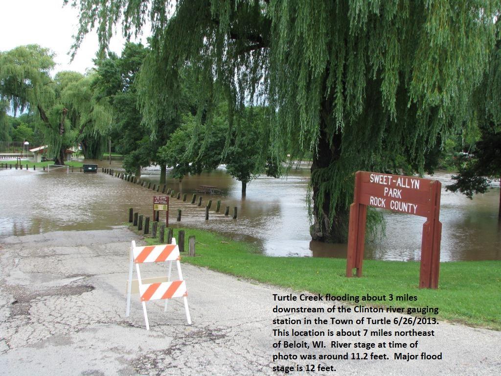 shopiere turtle creek flood 2013