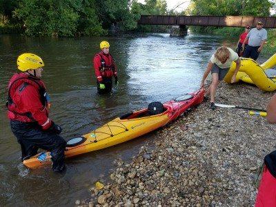 Tip a canoe burlington wi